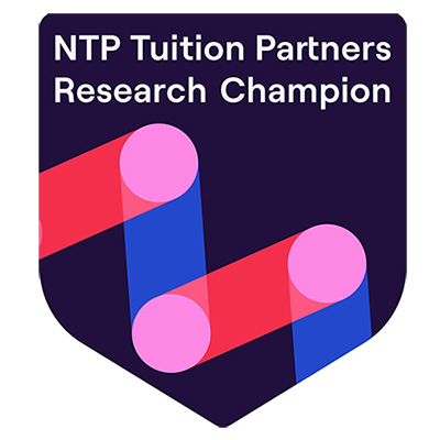 ntp tuition partners research champion logo